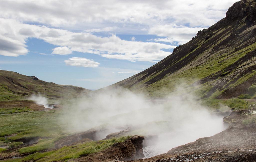 Area Geotermale di HVERAGERDI