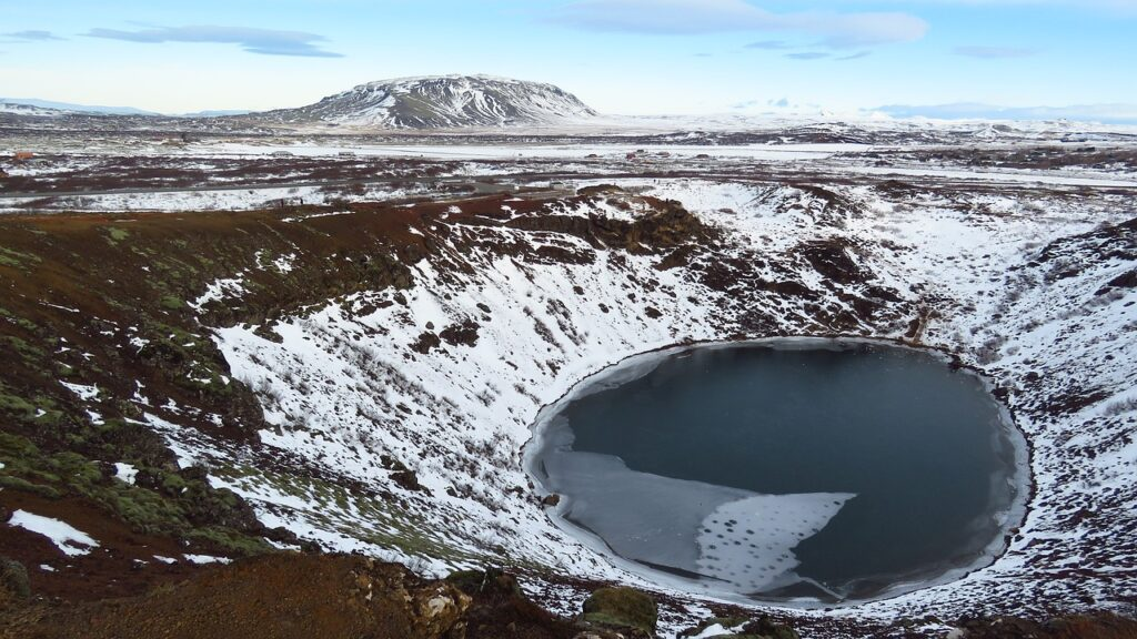 Il cratere KERID