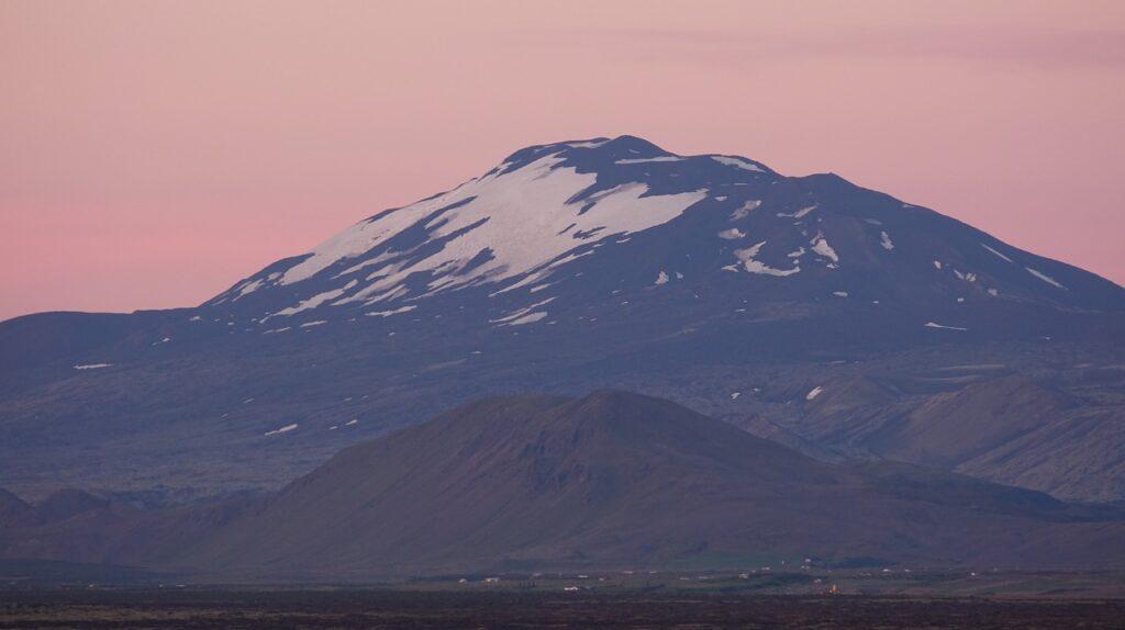 La montagna e vulcano HEKLA